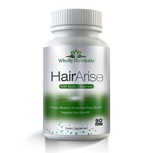 Tratamiento alopecia - pelo crecimiento fórmula para Anti caída del cabello, adelgazamiento, espesa y suplemento de recrecimiento de cabello. 3.000 MCG biotina. Activa nutrientes ricos en cabello y cuero cabelludo.