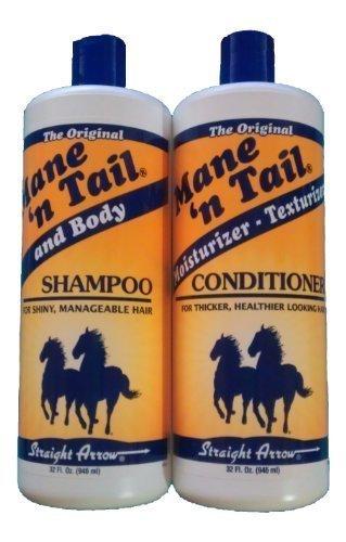 Melena y cola 32 oz Shampoo + acondicionador de 32 onzas (Combo oferta)