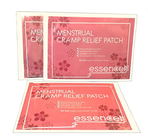 Essencell Menstrual calambres dolor alivio Natural calefacción almohadilla calor terapia parches-paquete de 3