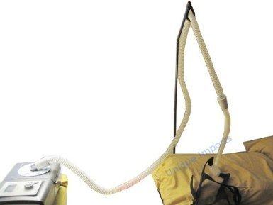 Soporte para la manguera Premium DuraCare Cpap para la apnea del sueño - se instala en segundos