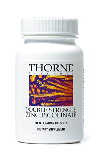 Thorne Research - doble fuerza Zinc picolinato - 60 cápsulas vegetarianas