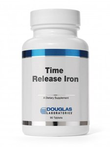 Douglas Lab Timed Release hierro 90 tabletas
