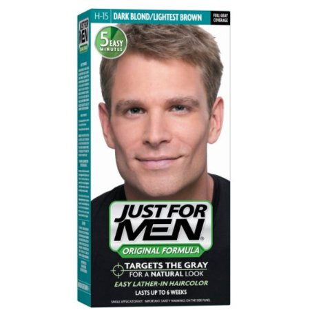 Just For Men Color de Pelo H-15 Rubio Oscuro 1 Cada (Pack de 2)