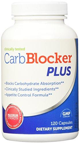 Bloqueador de carbohidratos del vientre Blaster Plus, 120 cápsulas