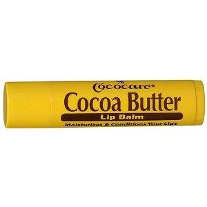 Bálsamo labial de manteca de cacao de Cococare - 0,15 Oz (Pack de 5)