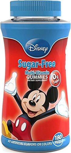 Disney sin azúcar Complete multi-vitamina gomitas, cuenta 180