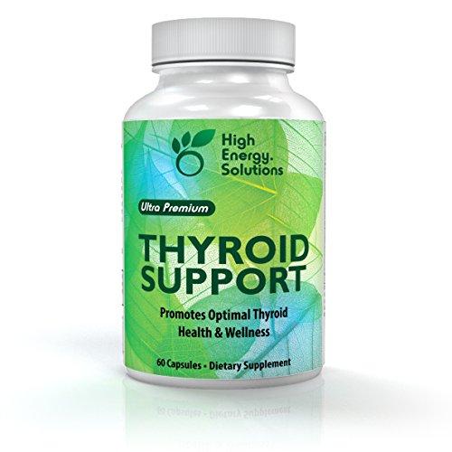 Alta energía soluciones Ultra Premium tiroides apoyo - 60 cápsulas - suministro de 30 días había avanzada apoya fórmula tiroides saludable 100% garantía!
