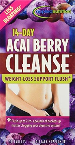 Aplicada nutrición - 14 días de Acai Berry Cleanse - 56 tabletas