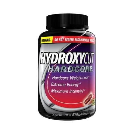 Hydroxycut Hardcore peso pérdida Rpd lanzamiento 60 Cp