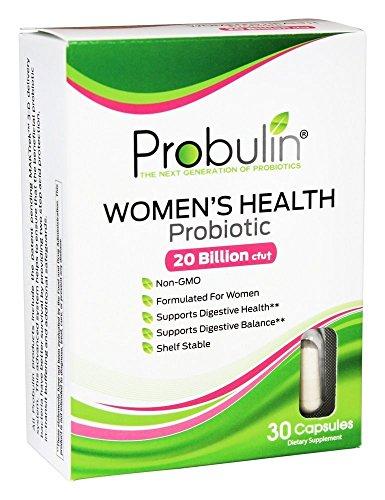 Salud probiótico de Probulin las mujeres (conteo de 30)