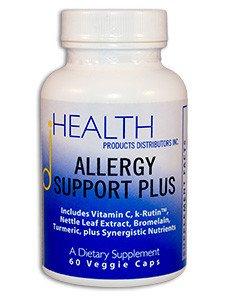 Alergia salud productos distribuidores, Inc. soporte Plus (60 caps)
