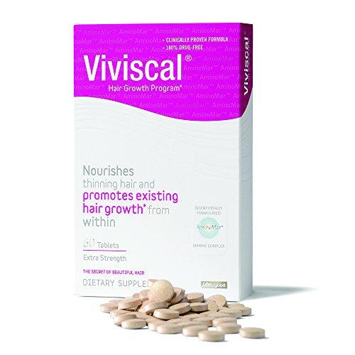 Viviscal Extra fuerza cabello nutrientes comprimidos, 60 comprimidos