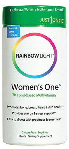 Luz de arcoiris, un multivitamínico de las mujeres, 150 tabletas