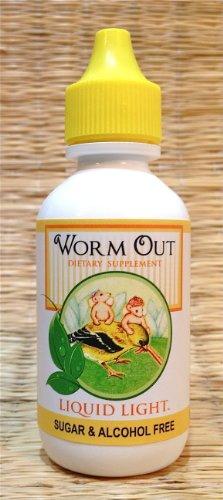 Gusano a 2 Oz botella - parásito limpiar, antiparasitarios, anti hongos, Candida, gusanos.