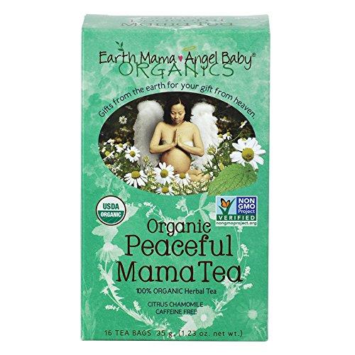 Té orgánico de Mama tranquila para el embarazo y la crianza de los hijos tranquilidad (paquete de 3)