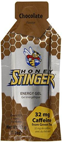 Miel Gel de energía orgánica de Stinger, Chocolate, 1,1 onzas (paquete de 24)