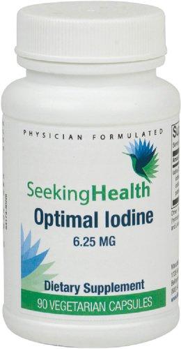 Optimal Iodine 6.25 mg 90 Caps