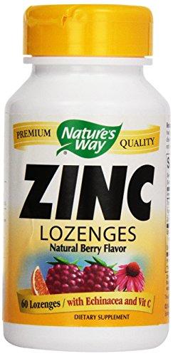 Forma losanje de Zinc de la naturaleza, 60 pastillas