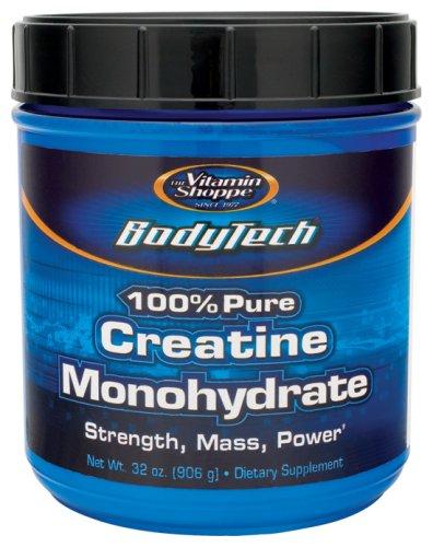 BodyTech - 100% puro monohidrato de creatina, 5 gm, 32 oz polvo