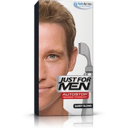 Just For Men AutoStop toda prueba de color de pelo rubio arena A-10 1 ea (paquete de 6)