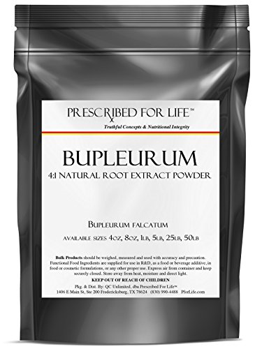 Bupleurum - 4:1 polvo Natural del extracto de la raíz - (Bupleurum falcatum), 4 oz