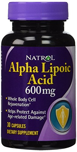 Natrol alfa lipoico 600 mg Caps, 30 ct