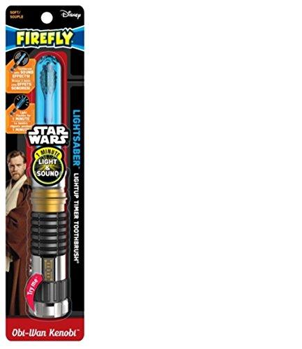 Firefly Star Wars Obi Wan sable de luz suave cepillo de dientes