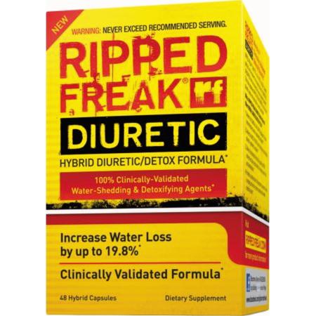 Pharmafreak RASGADO FREAK DIURÉTICO - 48CT - EE.UU. | Agua híbrido Shedding Diurético y Detox Formula