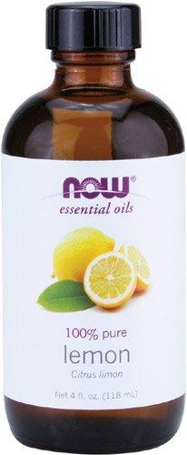 Ahora alimentos aceites esenciales, limón, 4 onzas de líquido
