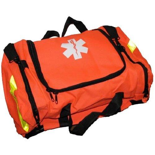 Siempre listo a primeros auxilios EMT grande primer respondedor Trauma de la bolsa, naranja