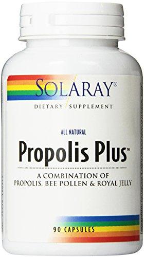 Solaray propóleo Plus suplemento, 200 mg, cuenta 90