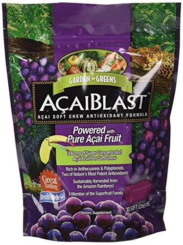 Verdes jardín Acaiblast Soft Chews, 300 Mg, 30 cuenta