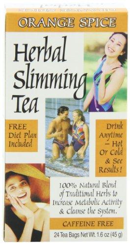 siglo XXI que adelgaza té, especias naranja, cuenta 24