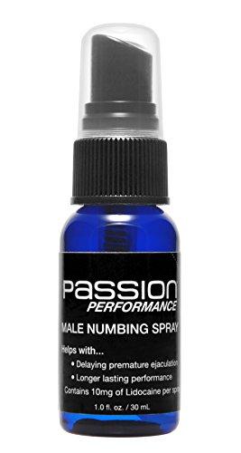 Pasión de lubricantes rendimiento resistencia Spray con máxima lidocaína