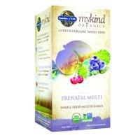 Jardín de la vida mykind orgánicos Prenatal Multi, 90 tableta orgánico