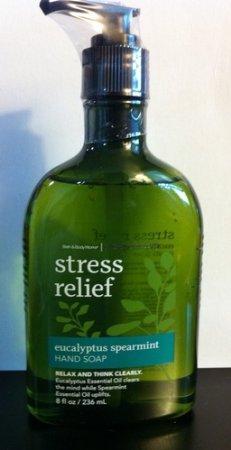 Baño y cuerpo funciona aromaterapia eucalipto menta estrés socorro mano Original jabón 8 oz (236 ml)