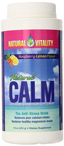Vitalidad natural limón frambuesa calma Natural 16 oz