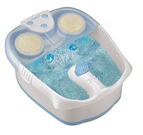 Spa para pies Conair cascada con luces, burbujas y calor