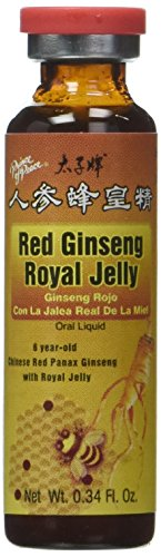 Rd Ginseng/Royal Jelly 30x10cc rojo chino Ginseng