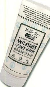 Loción de masaje anti-stress de terapéutica de la tierra 5 onzas (paquete de 2)