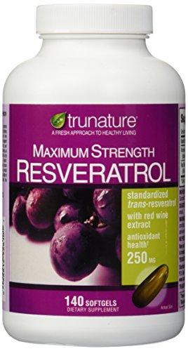 TruNature máxima fuerza Resveratrol 250 mg 140 cápsulas
