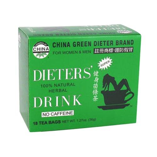 Tío Lee China de té verde bebida de Dieter, cuenta 18