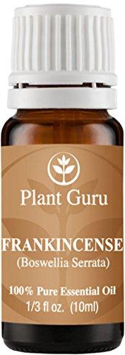 Aceite esencial de incienso. 10 ml. (Boswellia Serrata) 100% puro, sin diluir, terapéuticas grado.