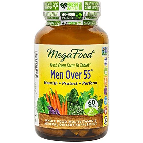 MegaFood - hombres más de 55, apoya las necesidades nutricionales para los hombres 55 años de edad o más, 60 comprimidos (envasado de alta calidad)