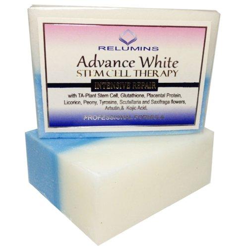 Avance de Relumins que blanquea el jabón con la reparación de la piel intensivo y terapia con células madre