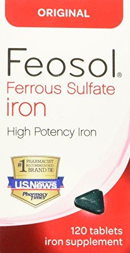 Feosol Original vitaminas, cuenta 120