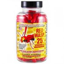 RED WASP 25 QUEMADOR EFEDRA 75 CAPSULAS