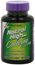 NATROL HIGH CAFFEINE 200 MG 100 CAPSULAS
