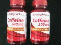 PIPINGROCK CAFFEINE 200 MG 2 FRASCOS X 200 CAPSULAS