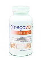 OMEGAVIA DHA 600 SUPLEMENTO PRENATAL 120 CAPSULAS